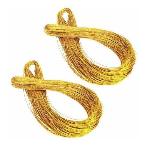 Cuerda De Oro Senkary Cuerda Metalica Hilo De Joyeria Hilo