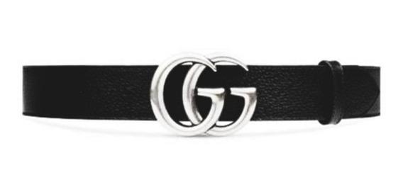 Cinturones Mujer Gucci Cuero P.u Cinto Dama Modelo G G
