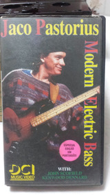 Vhs Jaco Pastorius - Modern Eletric Bass