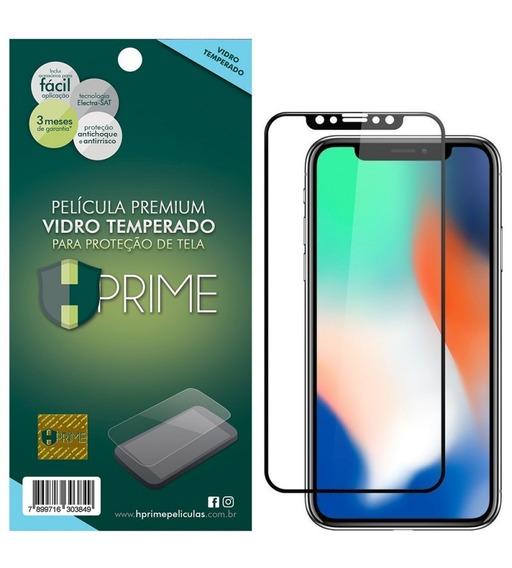 Pelicula Hprime Apple iPhone X - Preto - Colorglass 6d