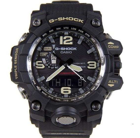 Relógio Casio G Shock Gwg -1000-1adr Preto Mudmaster Solar