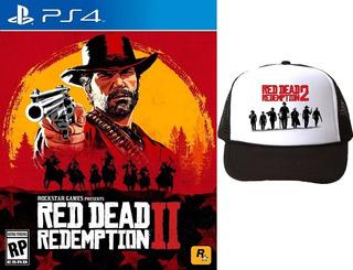 Red Dead Redemption 2 Ps4 Físico.+ Gorra + Mapa. Entrega Hoy