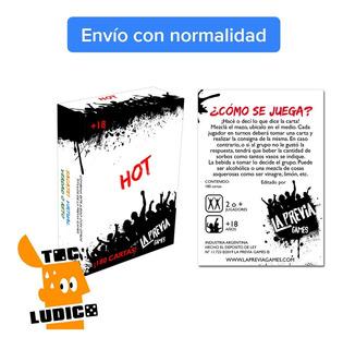 Juego Previa Hot - La Previa Games - Toc Lúdico