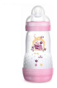 Mamadeira Easy Start First Bottle 260 Ml 2+ Rosa 4664 Mam