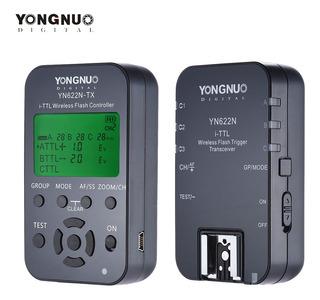 3*yongnuo Yn622n-kit Inalámbrico 100m De Control Remoto I-tt