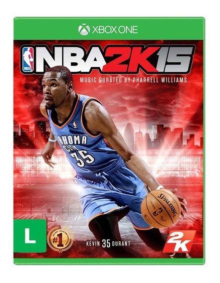 Nba 2k15 - Xbox One - Novo - Mídia Física - Lacrado