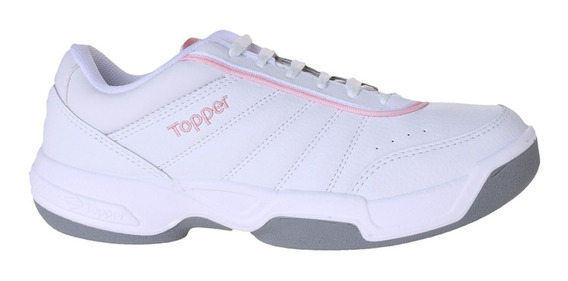 Zapatillas Topper C Tennis Lady Tie Break Iii Mujer Bl/rs