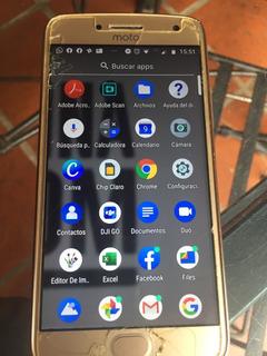 Teléfono Celular Motorola G5 Plus-dorado