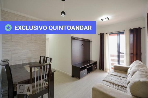 Apartamento No 12º Andar Mobiliado Com 2 Dormitórios E 1 Garagem - Id: 892978344 - 278344