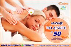 Masajes Relajantes 1 Hora