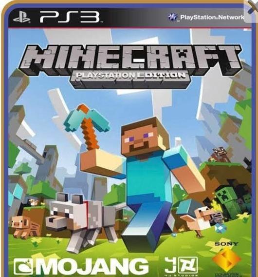 Minecraft Psn Ps3 Envio Imediato