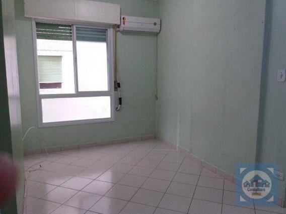 Kitnet Com 1 Dormitório À Venda, 30 M² Por R$ 170.000,00 - Aparecida - Santos/sp - Kn0612