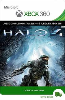Halo 4 Xbox 360 Juego Original Digital Oferta