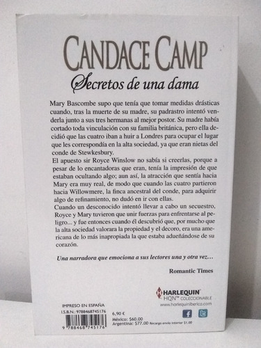 Secretos De Una Dama Candace Camp Mercado Libre