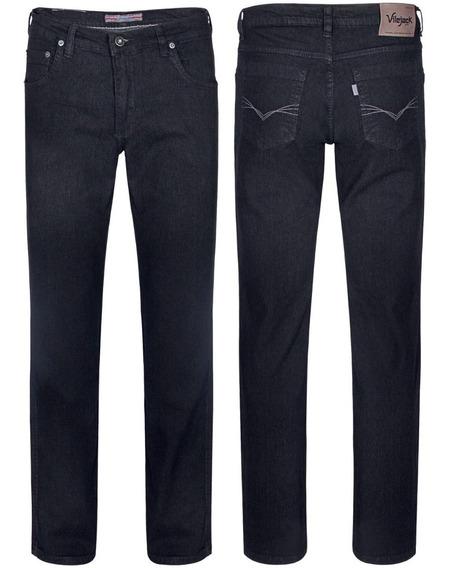 2 Calca Jeans Grafite C/lycra Vilejack Original