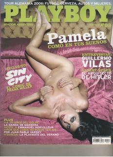 Revista Playboy - Pamela David - Nº 3 - Año 2006