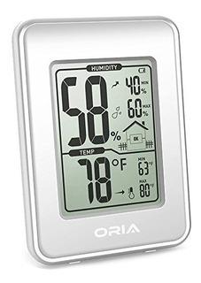 Higrometro Termometro Oria Estacion Meteorologica Digital De