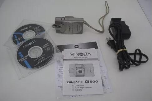 Câmera Digital Minolta Dimage G500