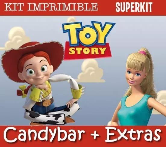 Kit Imprimible Toy Story Nenas Jessie Vaquerita