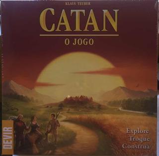 Catan O Jogo - Devir - Klaus Teuber - Bonellihq P20