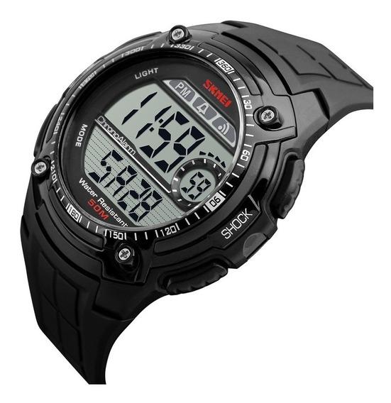 Relógio Masculino Skmei 1203 Militar Digital Esportivo Prova D
