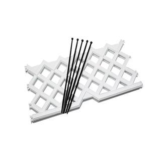 Cerco Plastico 2mts X 25cm De Alto Filtro Uv Aquaflex