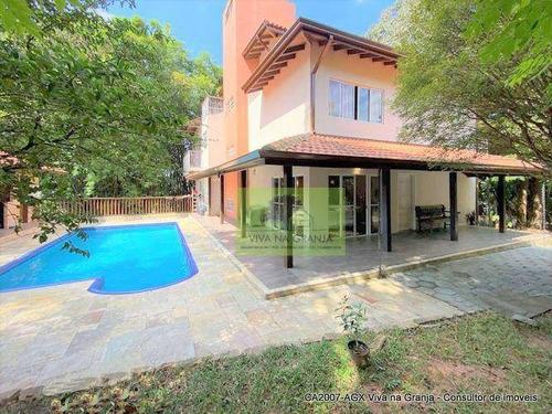 Imagem 1 de 30 de Casa À Venda, 410 M² Por R$ 1.300.000,00 - Granja Viana - Carapicuíba/sp - Ca2007