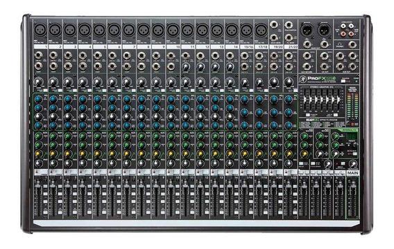 Mesa De Som Mackie 22 Canais Profx22v2 Pro Fx22 V2