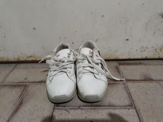 Zapatillas Con Ruedas Y Luces Marca Footy N° 32 Impecable