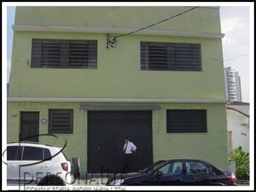 Galpão Comercial Para Venda E Locação, Tatuapé, São Paulo - Ga0079. - Ga0079