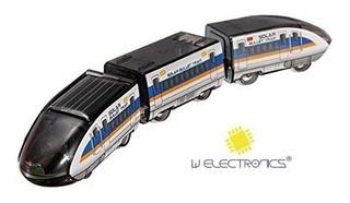 Tren Bala Impulsado Por Energía Solar