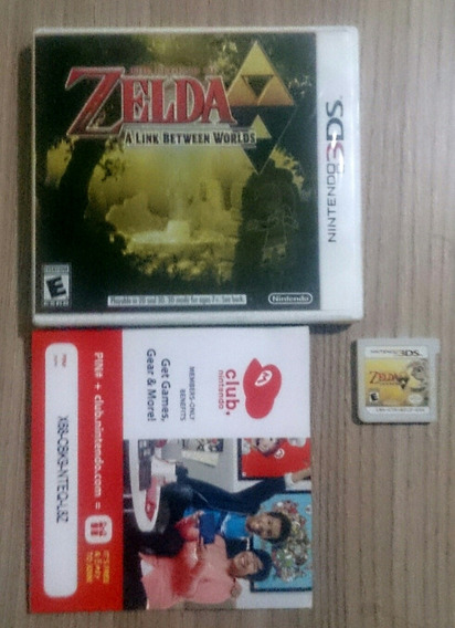 The Legend Of Zelda A Link Between Worlds N3ds Original