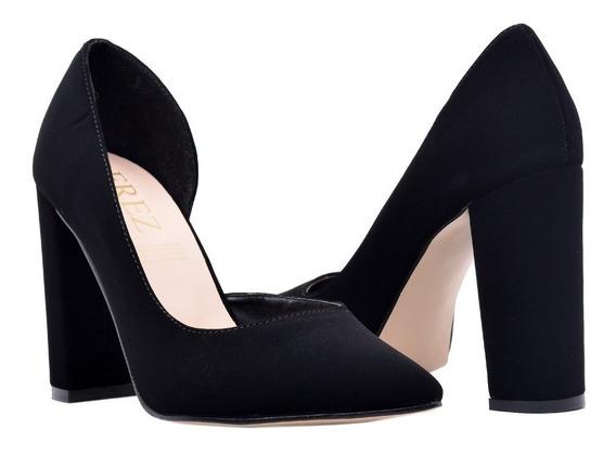 Zapatilla Mujer De Vestir Beige Y Negro | Erez