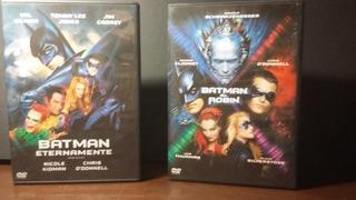Combo Batman Eternamente Batman Y Robin Dvd Original Noenvío