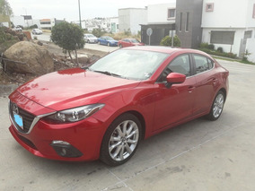 Mazda 3 Sport 2.5 S Sedan 2015 At Automático Rojo