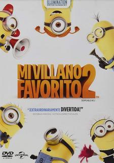 Mi Villano Favorito 2 Despicable Me 2 Pelicula Dvd