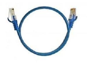 Patch Cord Cat6 Azul 2,5 Metros Pct Com 20 Unidades