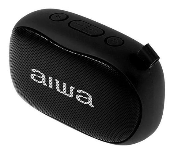 Caixa Som Speaker Aiwa Aw S21 Bluetooth/fm/microfone Preto
