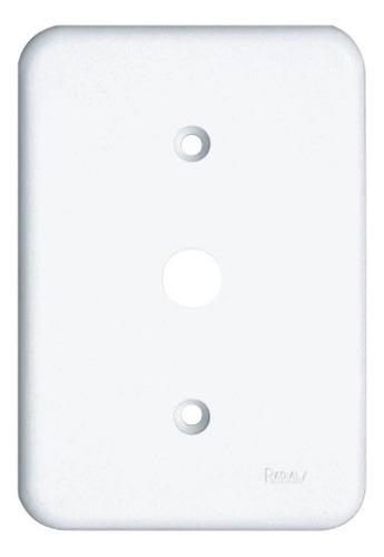 Imagem 1 de 3 de Espelho Placa Radial Pollar 1702002 4x2 1furo
