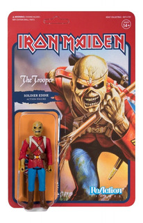 Super 7 Reaction Iron Maiden The Trooper
