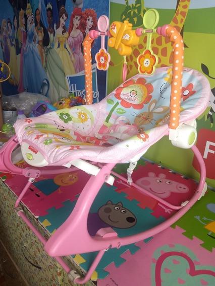 Cadeira Vibratória Fisher-price Minha Infância Meninas