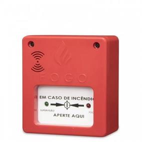 4 Acionador De Alame Incêndio Segurança C/ Sirene Aprovado