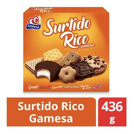 Galleta Surtido Rico Gamesa 3 Piezas De 436g
