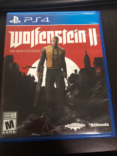 Wolfenstein 2 The New Colossus Ps4 Físico