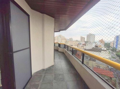 Apartamento Com 3 Dormitórios À Venda, 90 M² - Enseada - Guarujá/sp - Ap6476