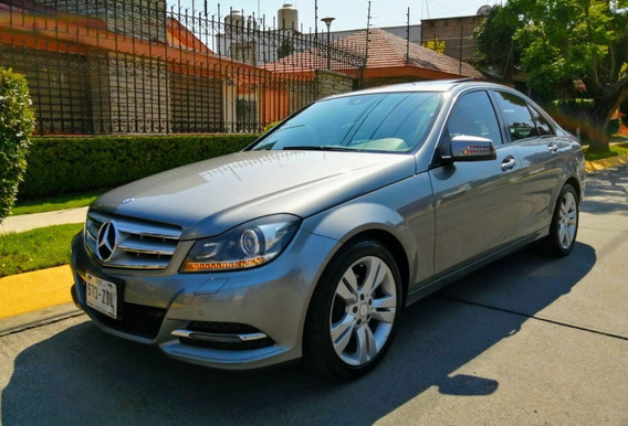 Mercedes Benz C200 Exclusive 1.8 Turbo Plus 2013 Fact. Orgnl