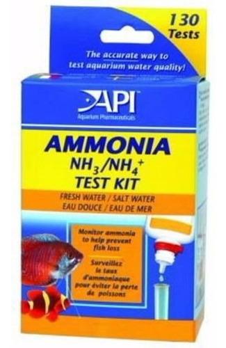 Kit Análisis Agua, Amoniaco Peceras Peces Api