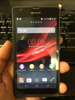 Celular Sony Xperia C5303 Bom Estado 8gb Leia O Anuncio