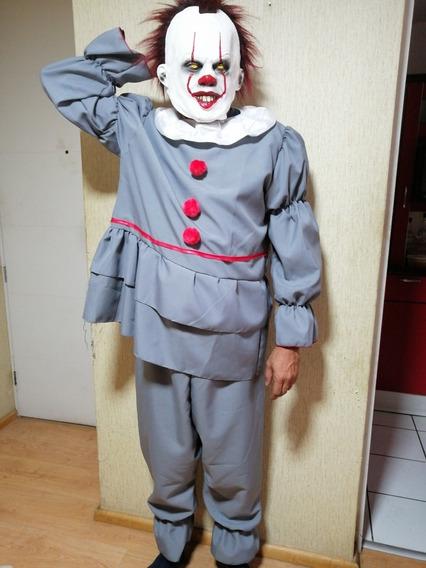 Disfraz Payaso It Pennywise Adultos Halloween Talla S A Xl