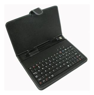Funda Rigida Teclado Tablet Ñ Noganet Mini Usb Resistente